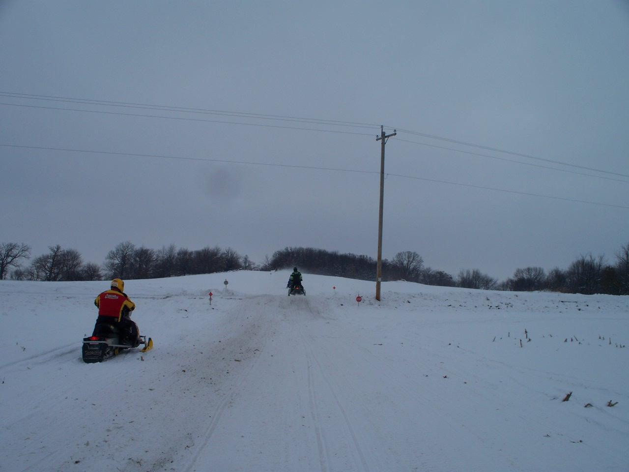 Clark County, Wisconsin - Snowtracks